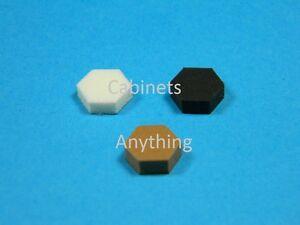 (108) Hexagon Cabinet Door Bumpers