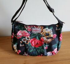 Cath Kidston Bloomsburry All Day Crossbody Bag - Black, Brand New