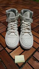 Adidas Originals Forum HI OG Chalk White/Granite Python Snakeskin B27671 SZ 10.5