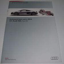 SSP 642 Audi R8 Achsantrieb vorn OD4 Typ 4S Selbststudienprogramm Juni 2015!