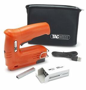 Tacwise Hobby 53-13EL Cordless 4V Staple & Nail Gun 2000 Staples + Bag USB 1564