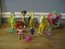 Strawberry Shortcake Ponies/ Horses - Carriage - Doll  You Choose!