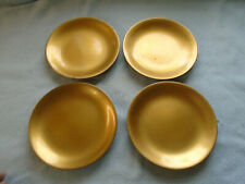 Four Vintage Japanese Gilded Lacquer Ware Underplates