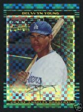 "2002 Bowman Chrome ""Xfractor"" DELWYN YOUNG RC #'D/150"