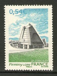TIMBRE 4087 NEUF XX LUXE - FIRMINY - EGLISE ST-PIERRE DE LE CORBUSIER