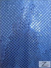 SMALL DOT CONFETTI SEQUIN FABRIC - 25 Colors - BY YARD POLKA DOT CRAFTS FASHION