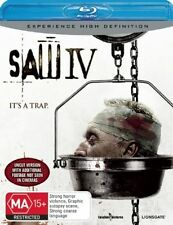 Saw 04 (Blu-ray, 2008) NEW AND SEALED