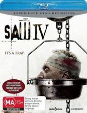 Saw IV (4) Blu-ray Discs NEW