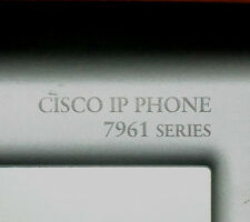 Cisco CP-7961G VOIP Phone SIP/ SCCP loaded 6 MonthWty CCNA CCNP TaxInv
