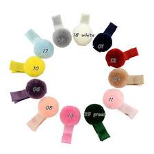 12pcs/lot hair accessories hairpin small Pompon gripper original Korean children