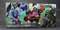 Hasbro TRANSFORMERS Specialist Autobots Mirage & Ironhide & Houno Figure