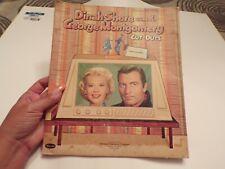 Vintage 1959 Dinah Shore and George Montgomery Paperdolls