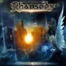 LUCA TURILLI'S RHAPSODY - ASCENDING TO INFINITY  CD POWER METAL 9 TITRES++++NEUF