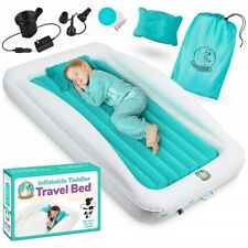 Inflatable Toddler Mattress Portable Set Travel Bed Airbed for Kids - Babyseater