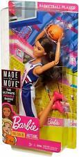 Muñeca Barbie hecha para mover Reproductor De Baloncesto Alto mayor flexibilidad