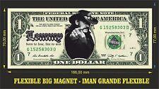 LEMMY KILMISTER MOTORHEAD IMAN BILLETE 1 DOLLAR BILL MAGNET