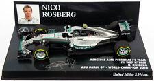 Minichamps Mercedes W07 Abu Dhabi 2016 campeón mundial-Nico Rosberg 1/43 Escala