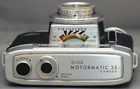 EASTMAN KODAK MOTORMATIC 35 Vintage film Camera f/2.8 44mm Lens Clean! USA