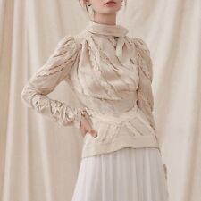 cream blouse small