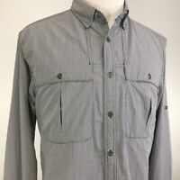ORVIS LONG SLEEVE VENTED BUTTON DOWN FISHING HIKING SHIRT MENS SIZE M