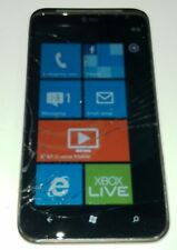 HTC Titan II  - 16GB - Black (AT&T) Smartphone Cracked Glass