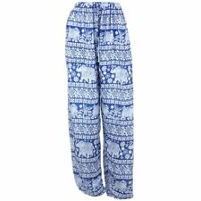 Elephant Trousers Pants Harem Ali Baba Aladdin Yoga Lounge Baggy Ellie Blue