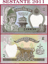 NEPAL - 2 RUPEES nd 1995 / 2000  -   SIGN 13  -   P 29b   - FDS / UNC