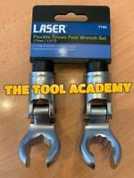Laser Tools 7720 Flexible Crows Foot Wrench Set 17mm, 2pc