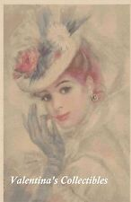 Counted Cross Stitch VICTORIAN LADY - COMPLETE KIT - No. 1-22 KIT