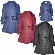 Kinder Mädchen Kunstlederjacke Jacken Ledermantel Übergangs Mantel Jacke 104-152