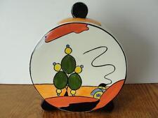 """Vintage Lorna Bailey Art Deco """"Marshlands"""" Disk Jug"""