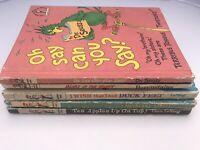 Lot of 5 Vtg Dr. Seuss LeSieg Berenstains I Can Read Beginner Books Childrens