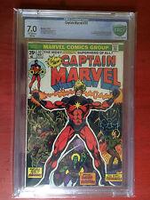 CBCS 7.0 Captain Marvel #32 Marvel 1974 Comic