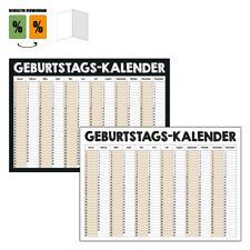 Dauerkalender A3 im Querformat auf DIN A4 gefaltet immer verwendbar modern