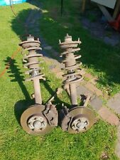VOLVO 940 TURBO PAIR OF FRONT Struts complete brakes/arms shocks springs legs