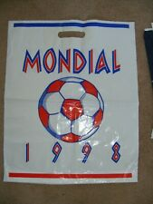 1998 World Cup Plastic merchandise bag