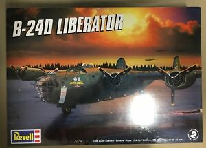 Revell 1/48 Scale B-24D Liberator In Factory Cellophane