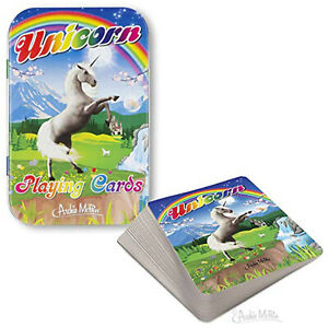 Unicorn Playing Cards NEW Games Playing Games Gag Gifts
