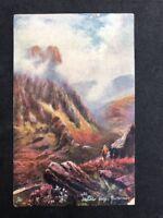 Vintage Postcard #TP410: Honister Crag: Buttermere: Raphael Tucks: Oilette