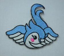 BLUEBIRD TATTOO SWIFT 8cm Embroidered Iron Sew On Cloth Patch Badge  APPLIQUE