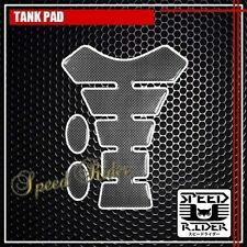 TANK PAD PROTECTOR STICKER DECAL GAS FUEL OIL MOTORCYCLE UNIVERASL TP001 CARBON