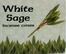 WHITE SAGE KAMINI INCENSE CONES 12 PACKETS / ONE BOX
