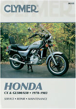 CLYMER Repair Manual for Honda 500/650 Twins 1978-1983 CX500 GL500 CX650 GL650