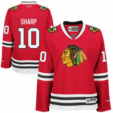 NHL Reebok Womens Chicago Blackhawks Patrick Sharp Edge Premier Red Jersey  Small 9bcc3f773
