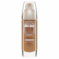Maybelline Dream Satin Liquid Foundation 54 Toffee Beige SPF 13 30ml New York