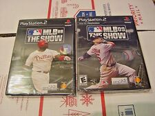 Brand New MLB 08 MLB 09: The Show Baseball Game (Sony PS2, 2008)