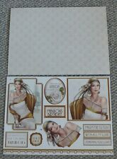 """DEBBIE MOORE """"ART DECO"""" TOPPPER AND CO-ORDINATING PAPER SHEETS (1)"""