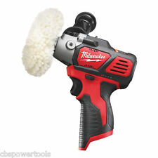 Milwaukee M12BPS-0 Compact Polisher/Sander - Body Only Cordless