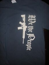 Terrific Second Amendment T-Shirt, Size Medium, Nice Shape! Nra Goa