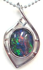 Natural Black Triplet Opal Good Choice Special Gift